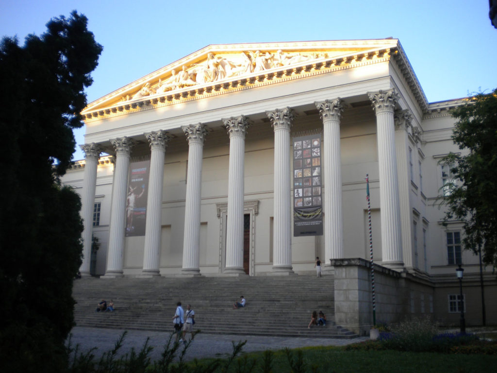 A Nemzeti Múzeum, ahol `Abdu'l-Bahá előadást tartott 1913. április 14-én (c) Magyarországi Bahá'í Közösség www.bahai.hu