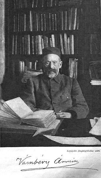 Vámbéry Ármin 1905-ben. Megjelent a Vasárnapi Újság 1905/24. számában. Forrás: Wikimedia Commons, ez a mű nem jogvédett