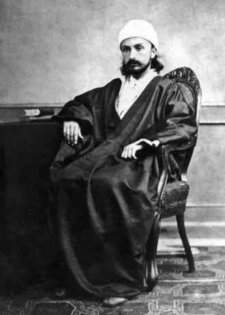 'Abdu'l-Bahá fiatalkori fényképe (c) Bahá'í Nemzetközi Közösség www.bahai.org