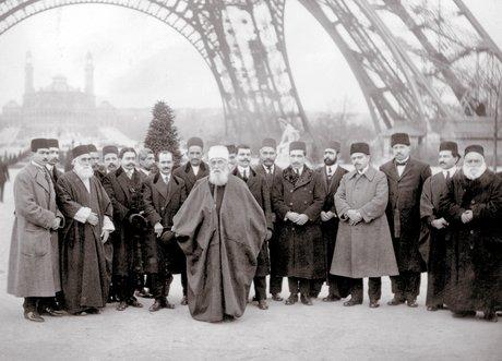 'Abdu'l-Bahá Párizsban (c) Bahá'í Nemzetközi Közösség www.bahai.org