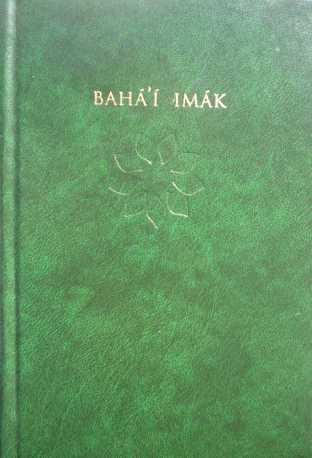 A könyv borítója: Bahá'í imák