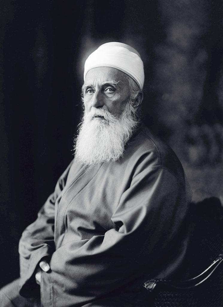 A Mester, 'Abdu'l-Bahá, aki inspirálta Kahlil Gibran művészt, költőt és írót. (c) Bahá'í Nemzetközi Közösség media.bahai.org