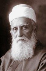 'Abdu'l-Bahá (1844-1921). Nevének más írásmódjai: Abdulbaha, Abdul Baha, Abdul Beha, Abbas Effendi, Abdolbahá. (c) Bahá'í Nemzetközi Közösség www.bahai.org